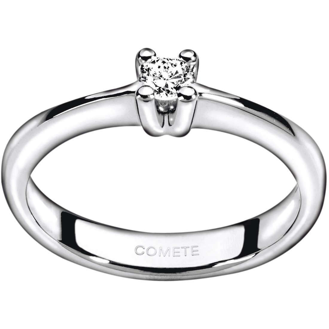 anello donna gioielli Comete Solitario ANB 1590
