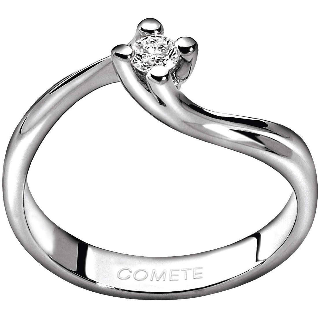 anello donna gioielli Comete Solitario ANB 1591