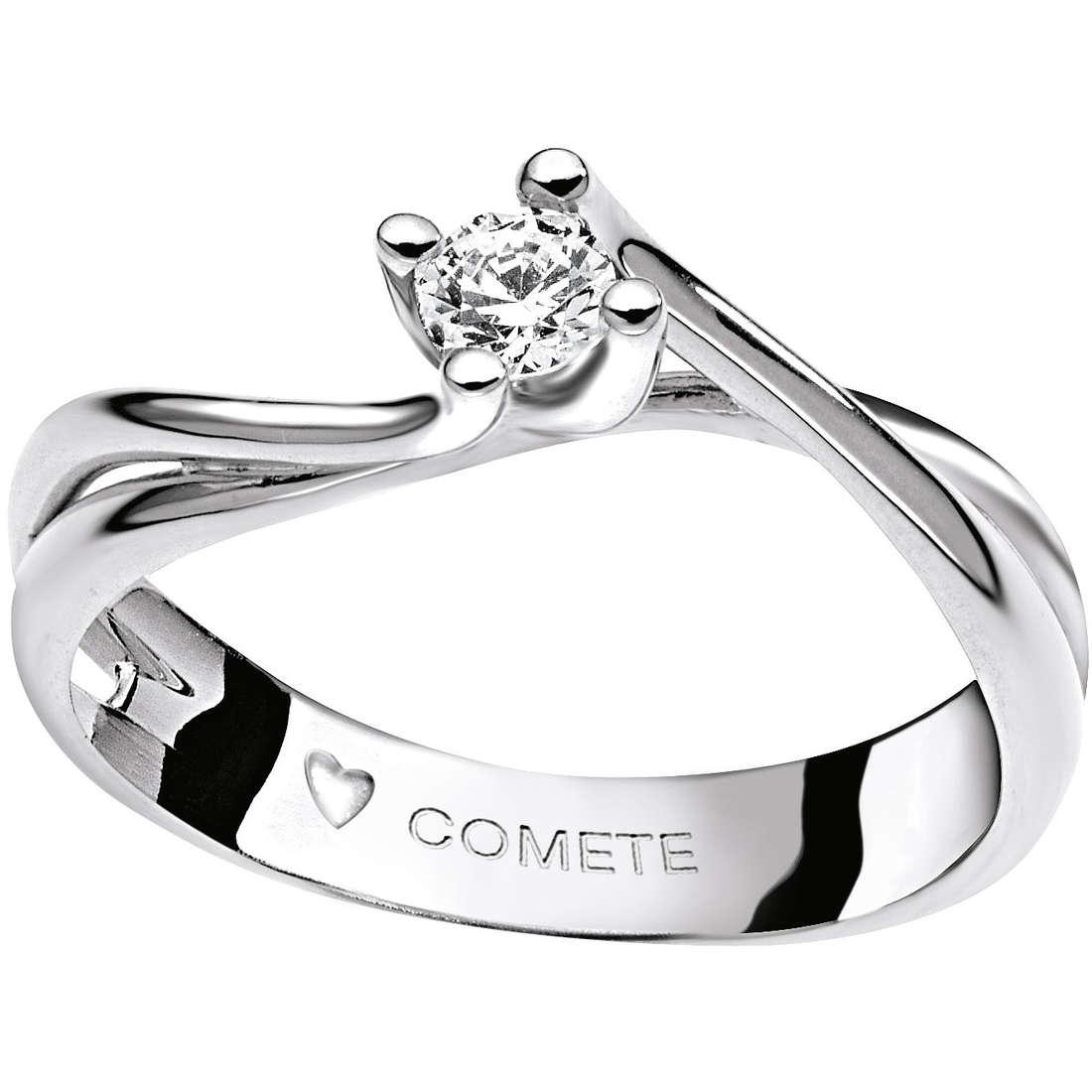 anello donna gioielli Comete Solitario ANB 1592