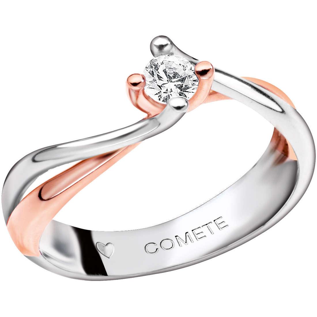 anello donna gioielli Comete Solitario ANB 1593