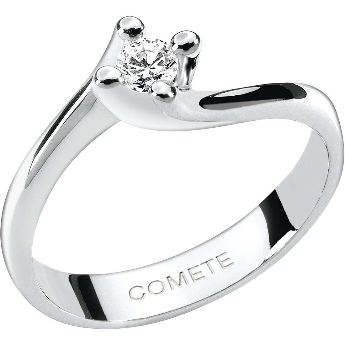 anello donna gioielli Comete Solitario ANB 1595
