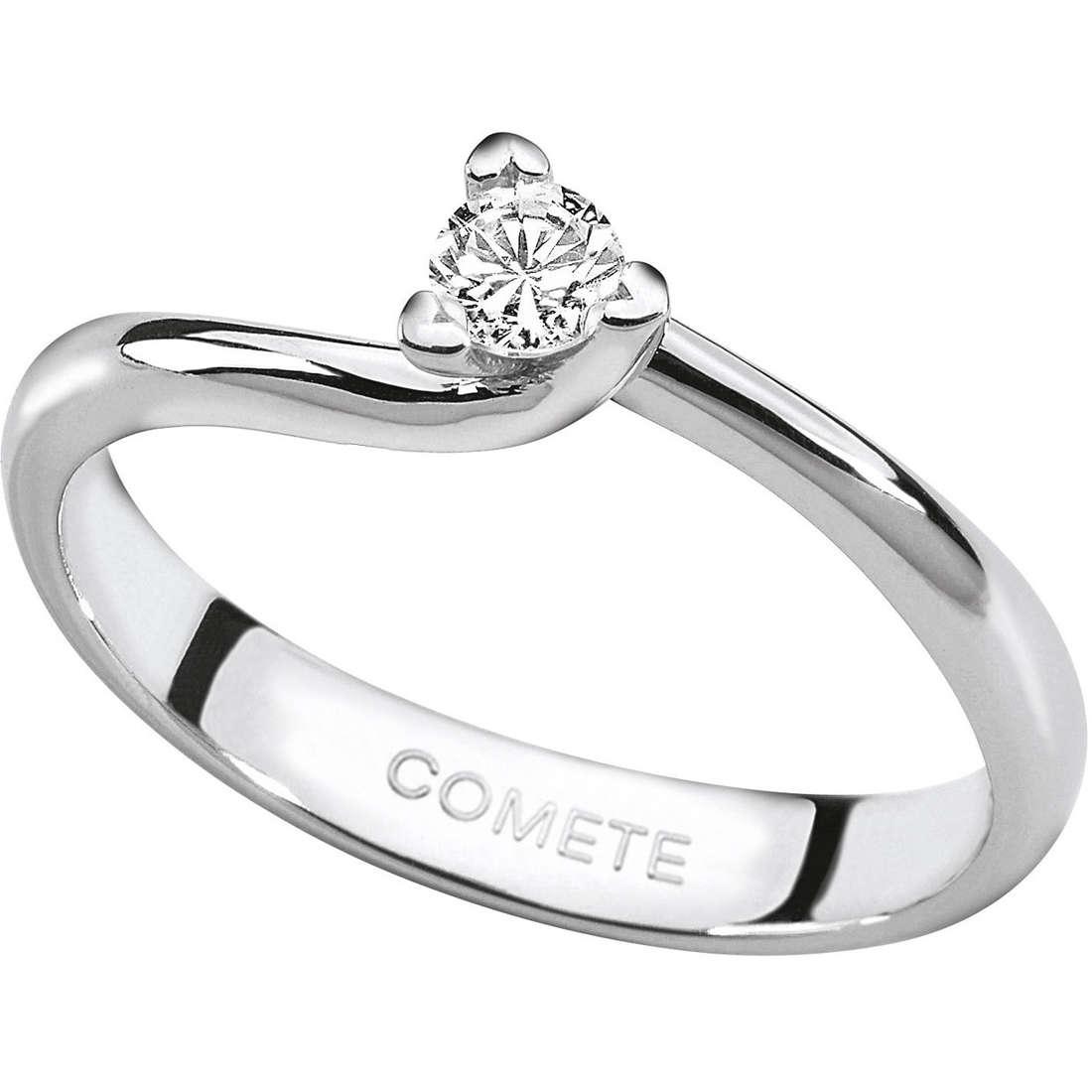 anello donna gioielli Comete Solitario ANB 1596
