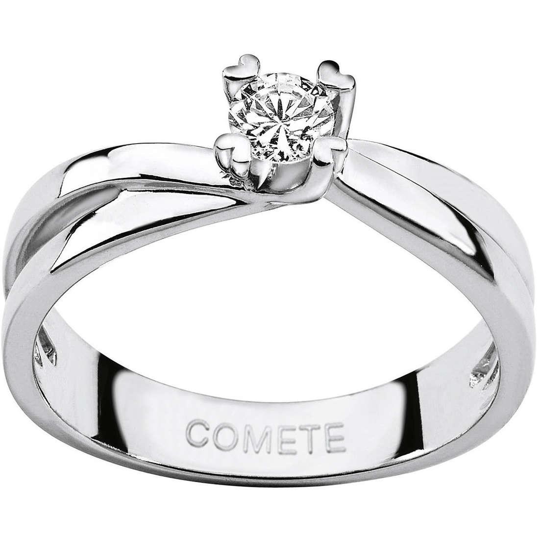 anello donna gioielli Comete Solitario ANB 1597