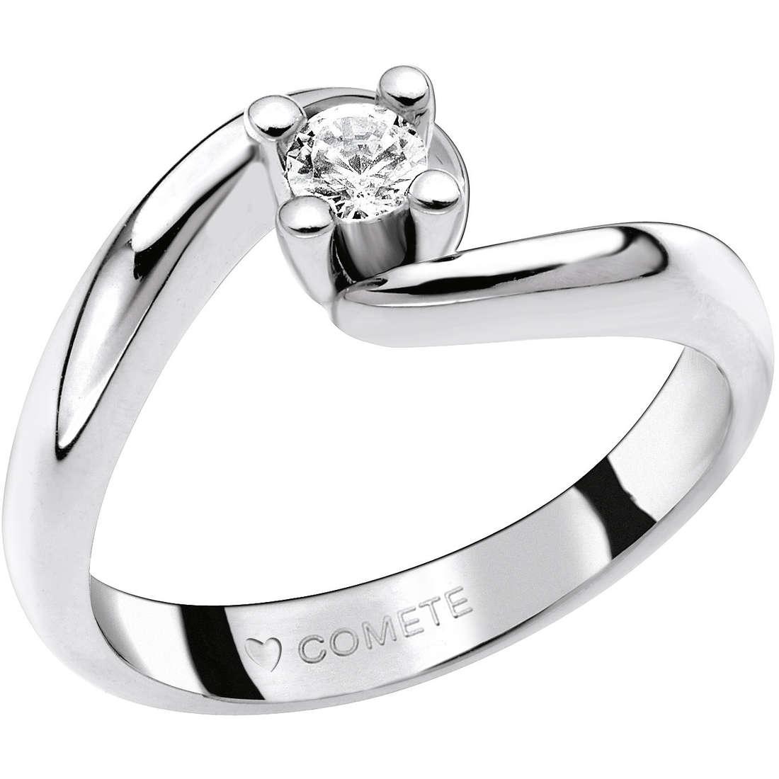 anello donna gioielli Comete Solitario ANB 1598