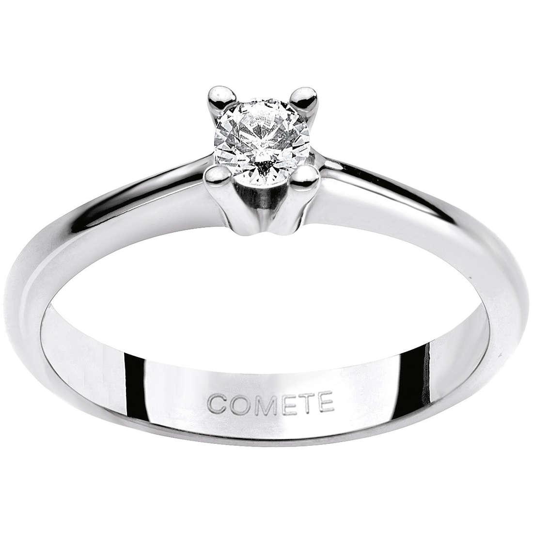 anello donna gioielli Comete Solitario ANB 1599