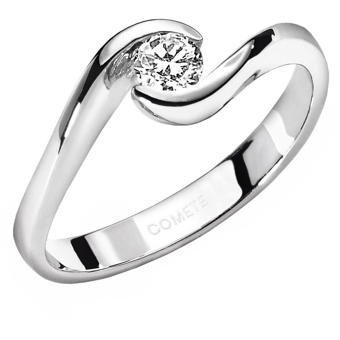 anello donna gioielli Comete Solitario ANB 1600
