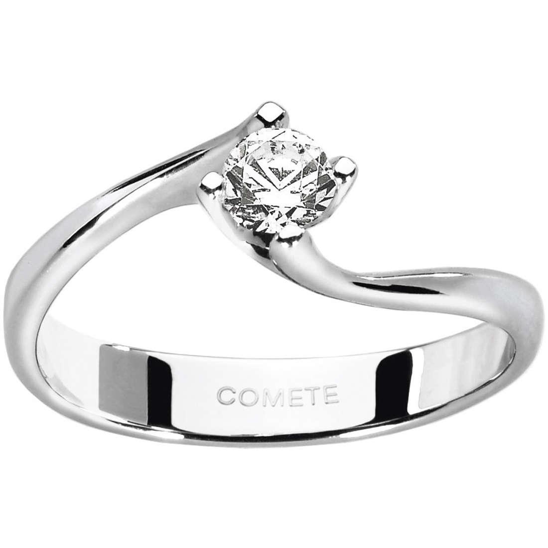 anello donna gioielli Comete Solitario ANB 1602