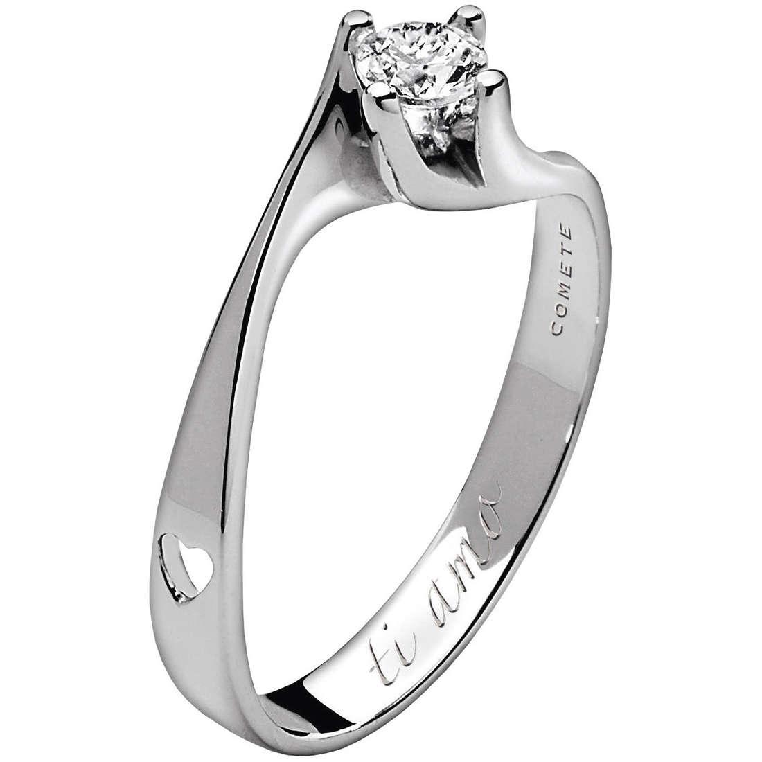 anello donna gioielli Comete Solitario ANB 1604
