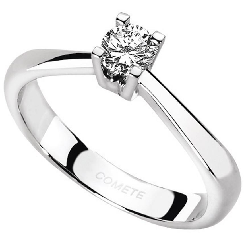 anello donna gioielli Comete Solitario ANB 1607