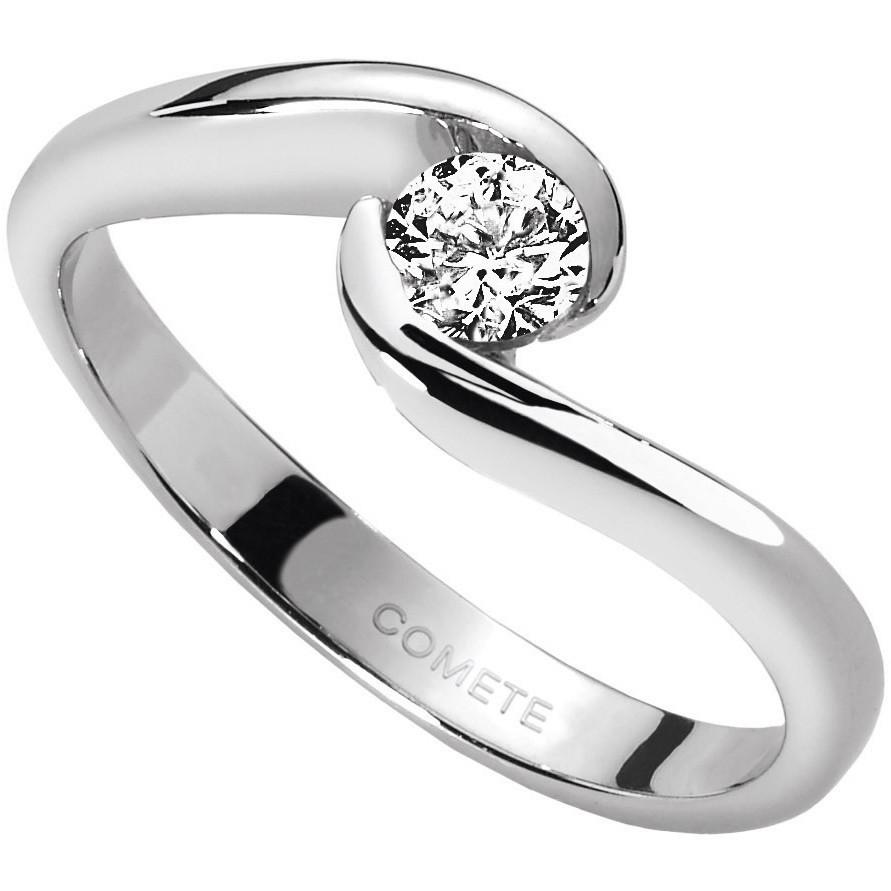 anello donna gioielli Comete Solitario ANB 1608