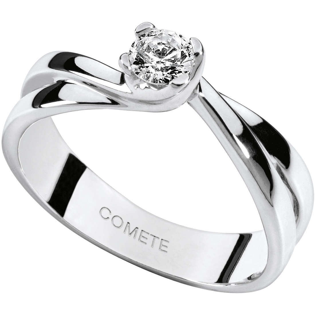 anello donna gioielli Comete Solitario ANB 1610