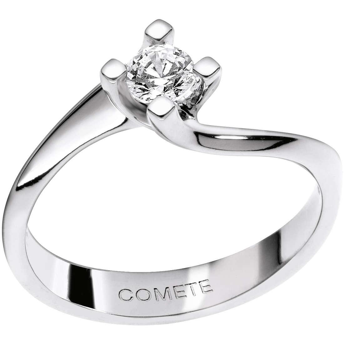 anello donna gioielli Comete Solitario ANB 1611
