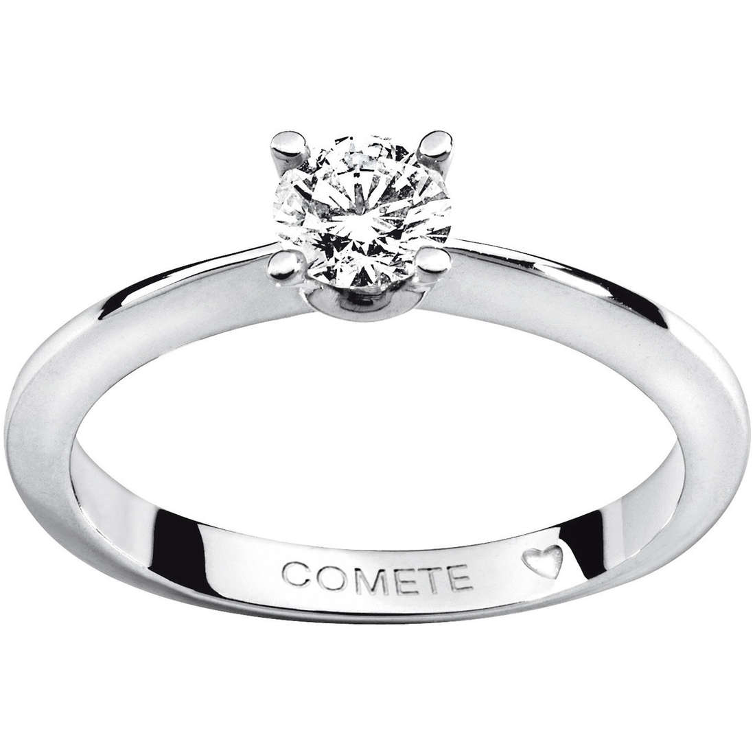 anello donna gioielli Comete Solitario ANB 1623