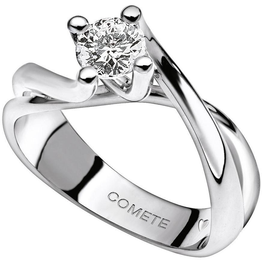 anello donna gioielli Comete Solitario ANB 1630