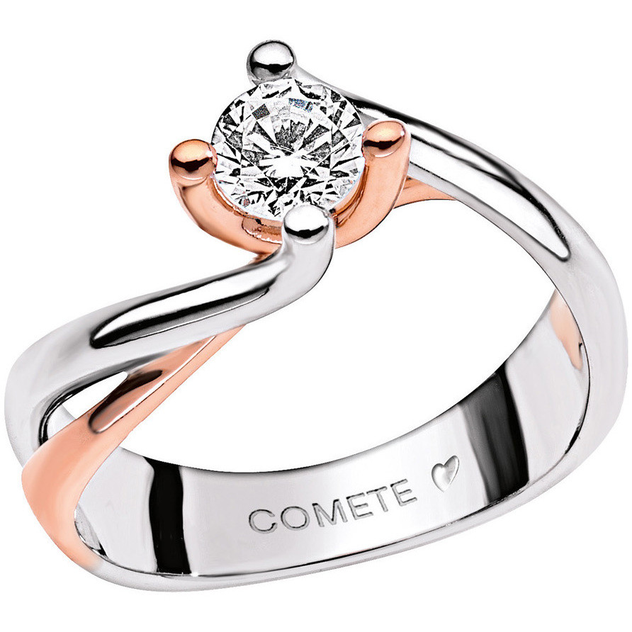 anello donna gioielli Comete Solitario ANB 1631