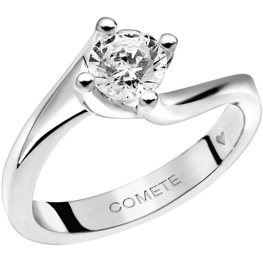 anello donna gioielli Comete Solitario ANB 1635