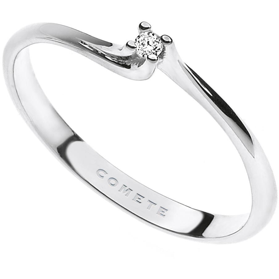 anello donna gioielli Comete Solitario ANB 1667