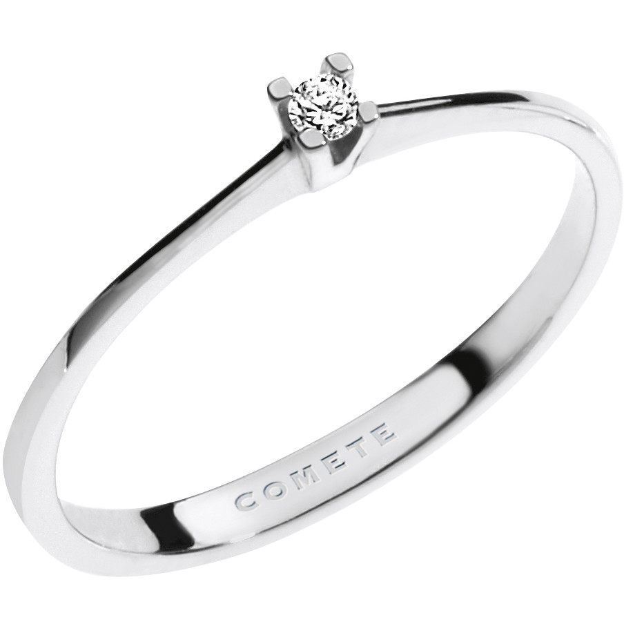 anello donna gioielli Comete Solitario ANB 1671