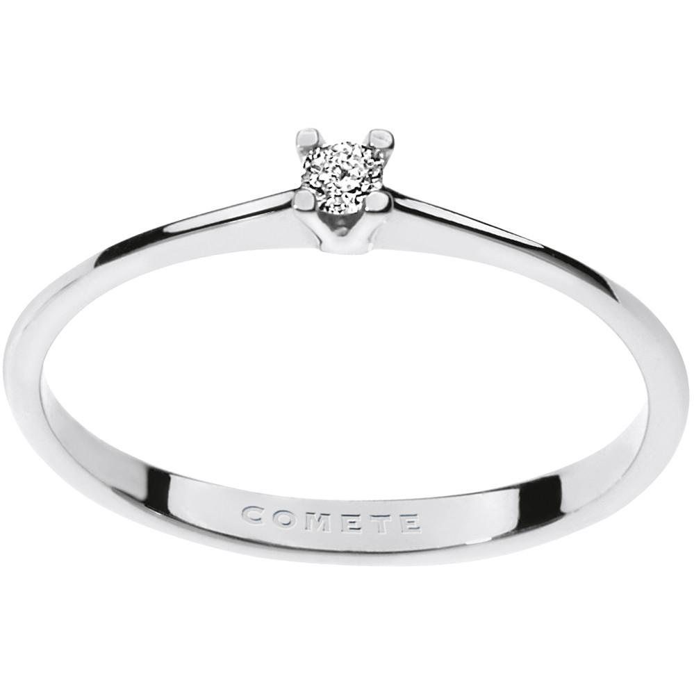 anello donna gioielli Comete Solitario ANB 1675