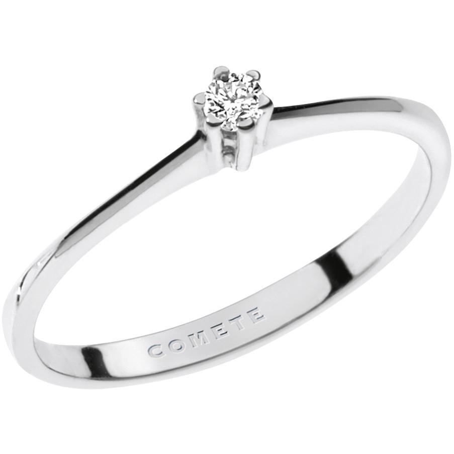 anello donna gioielli Comete Solitario ANB 1676