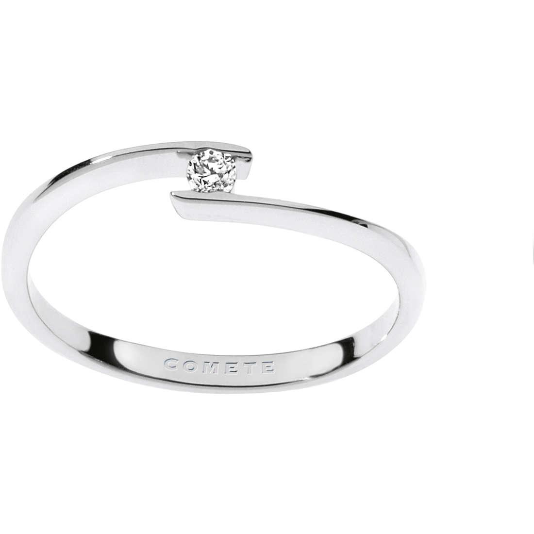 anello donna gioielli Comete Solitario ANB 1677