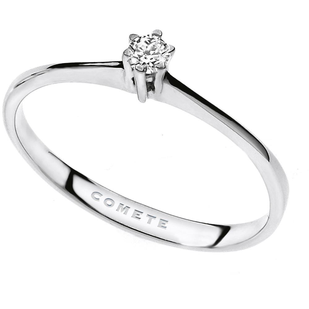 anello donna gioielli Comete Solitario ANB 1679