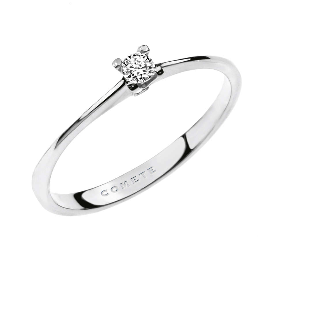 anello donna gioielli Comete Solitario ANB 1680