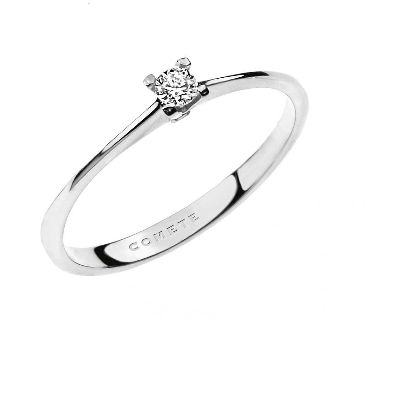 rivenditore di vendita ce595 1cda0 anello donna gioielli Comete Solitario ANB 1680