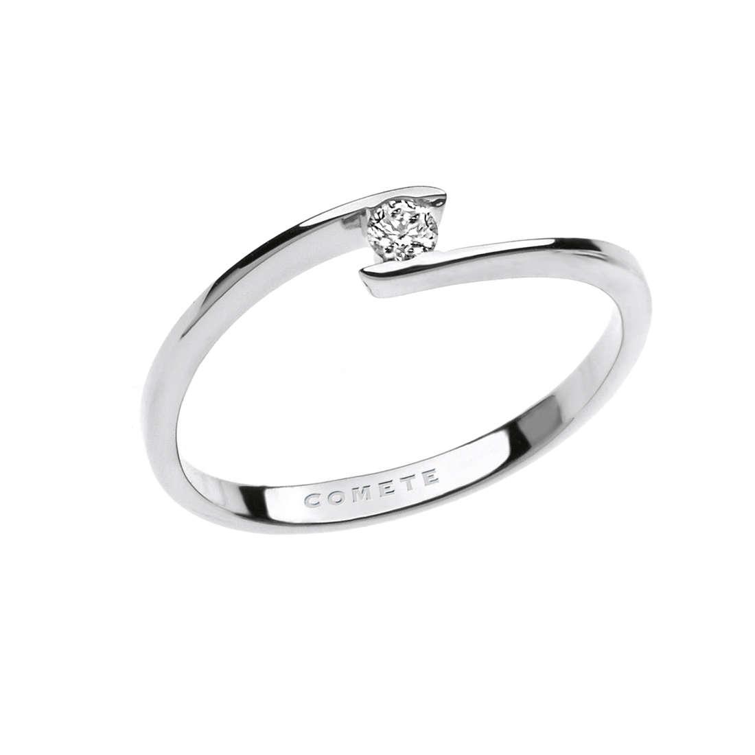 anello donna gioielli Comete Solitario ANB 1681