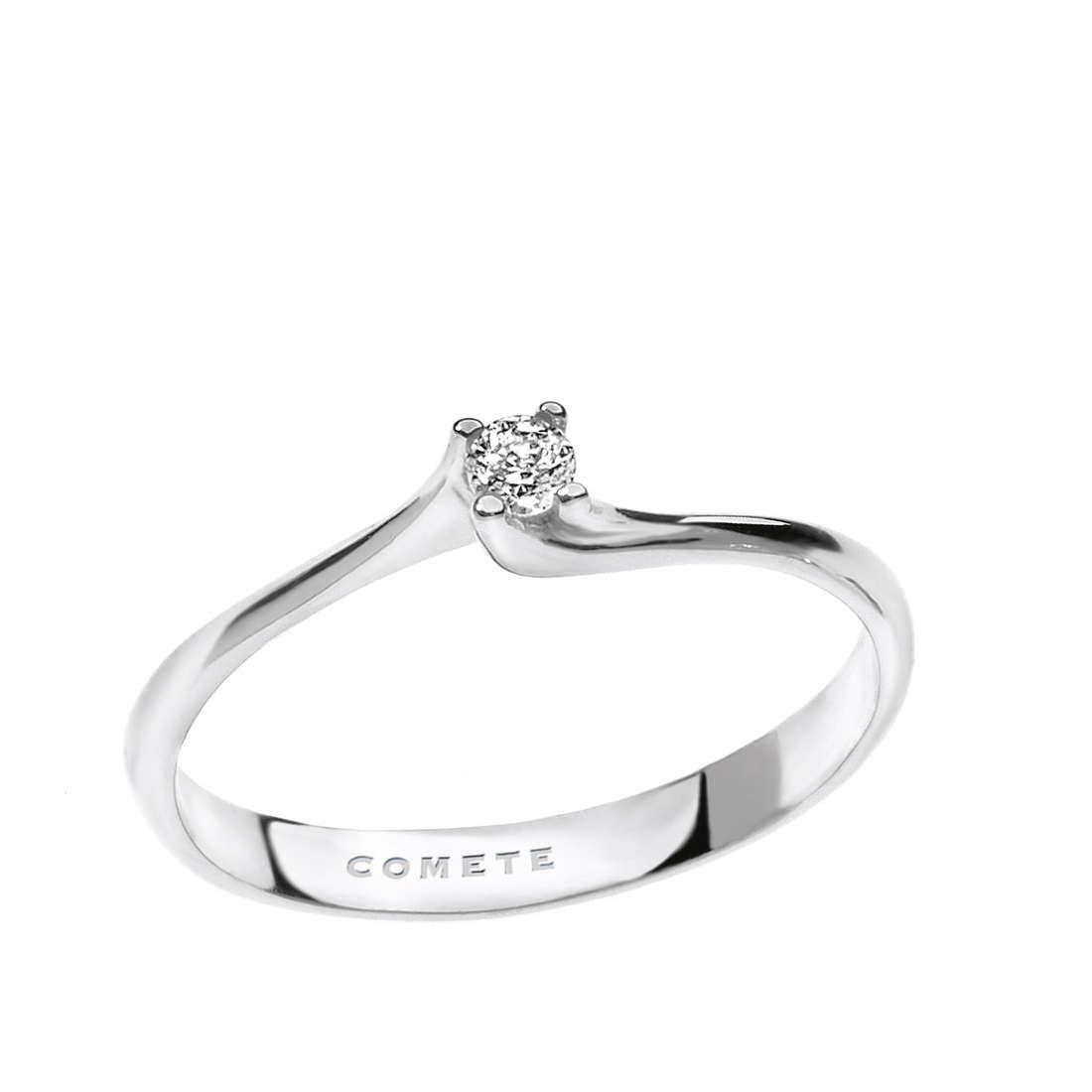 anello donna gioielli Comete Solitario ANB 1682
