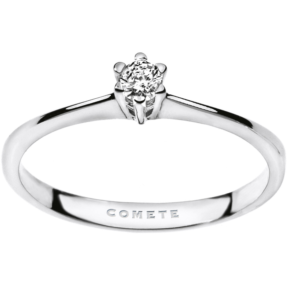 anello donna gioielli Comete Solitario ANB 1683