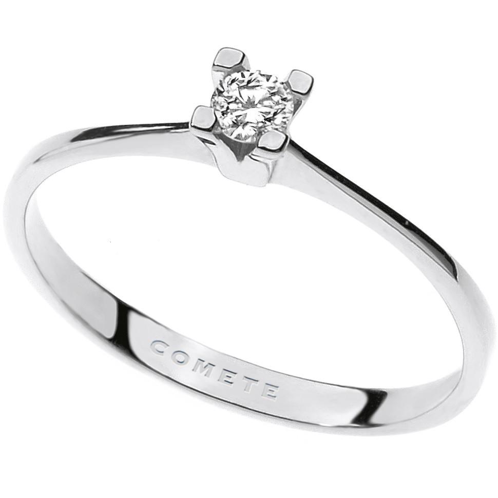 anello donna gioielli Comete Solitario ANB 1684