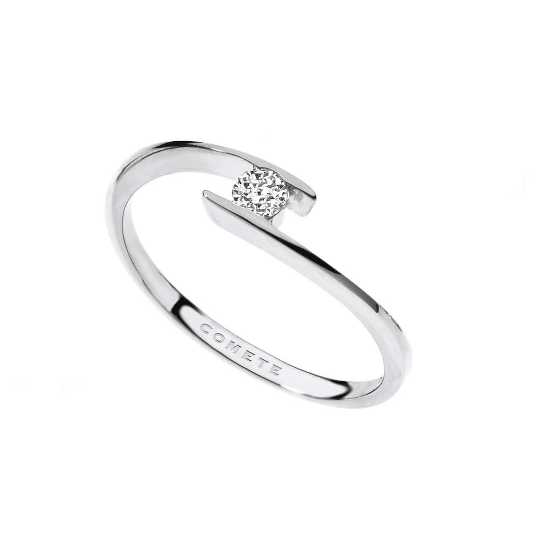 anello donna gioielli Comete Solitario ANB 1685