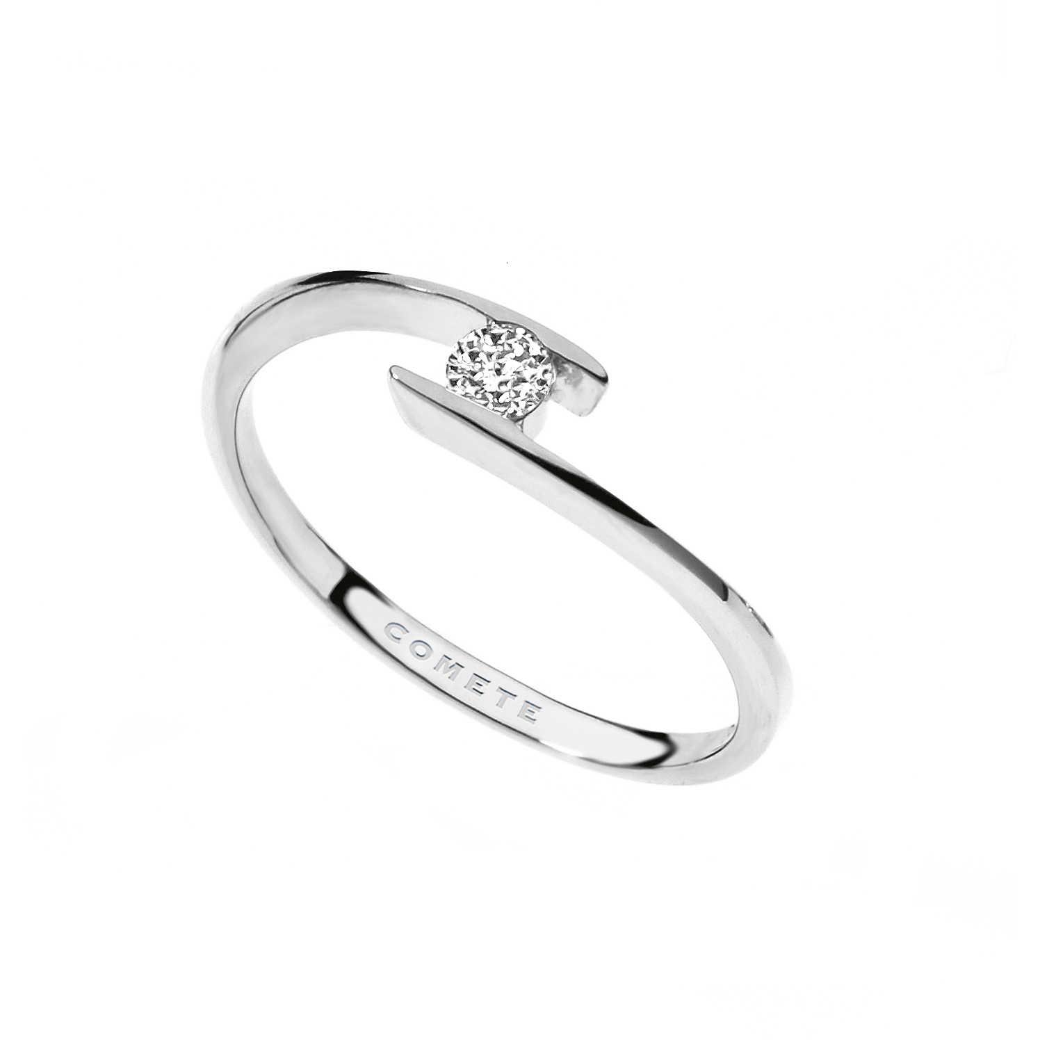 vasta selezione di 8e7c1 c181b anello donna gioielli Comete Solitario ANB 1685
