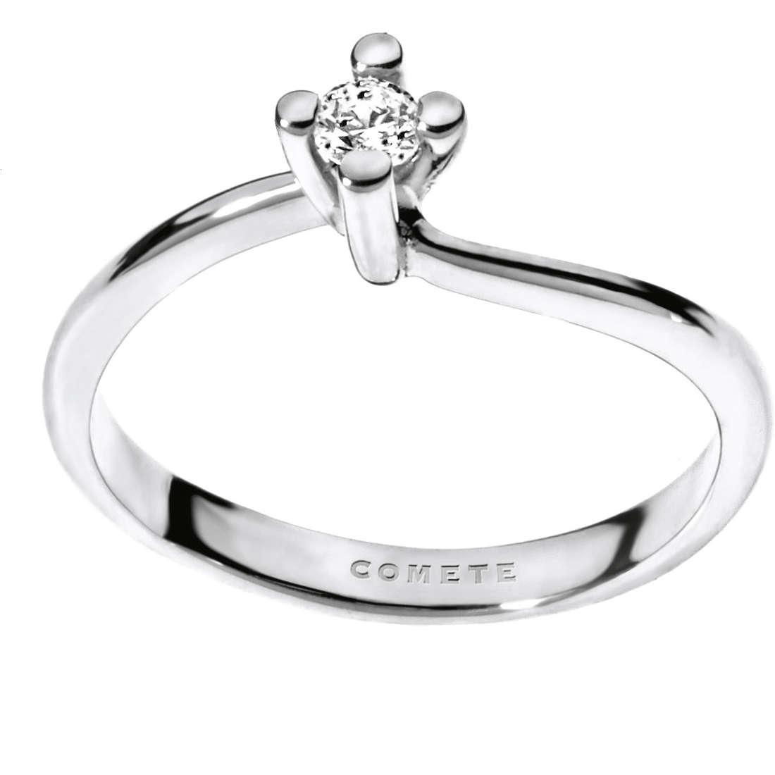 anello donna gioielli Comete Solitario ANB 1693