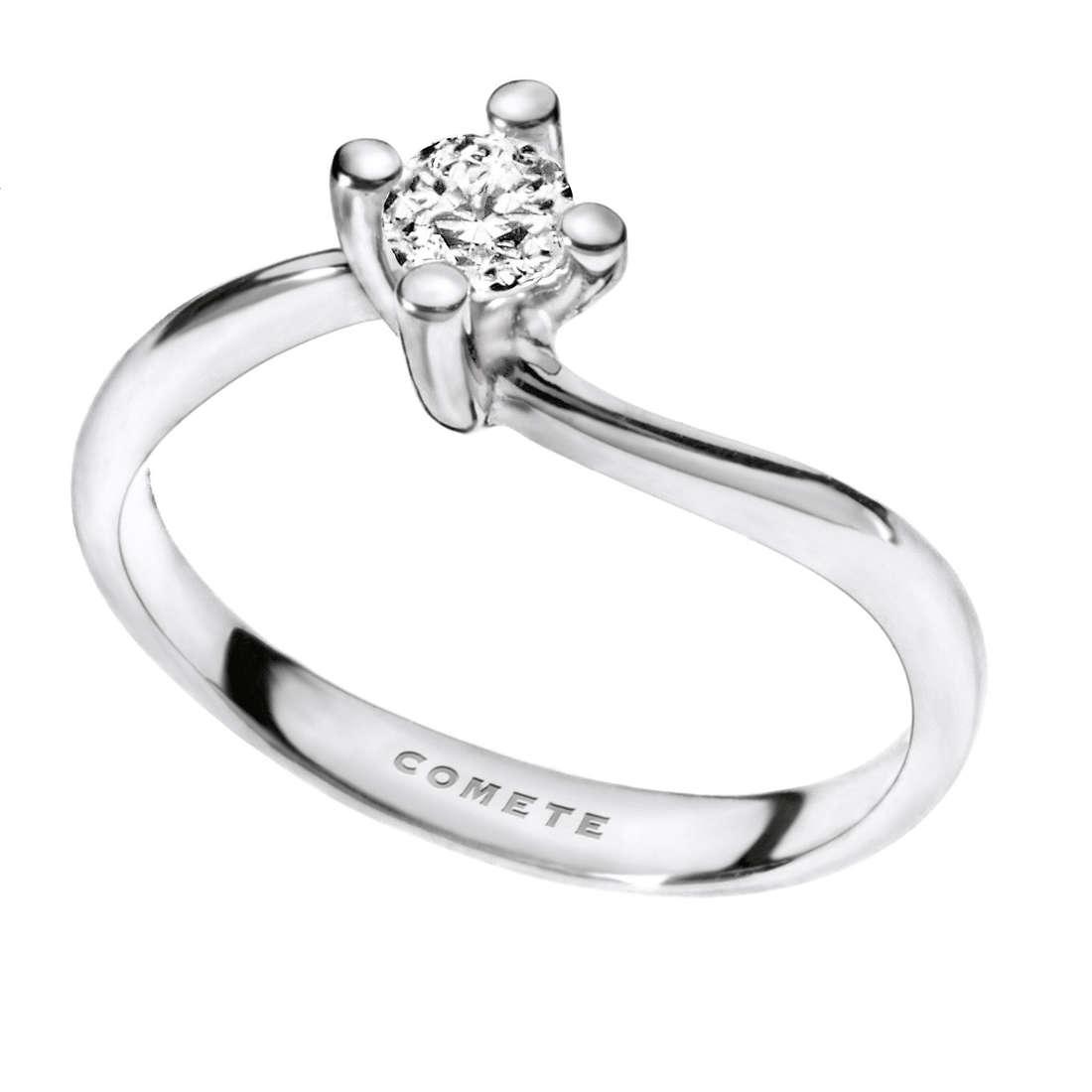 anello donna gioielli Comete Solitario ANB 1695