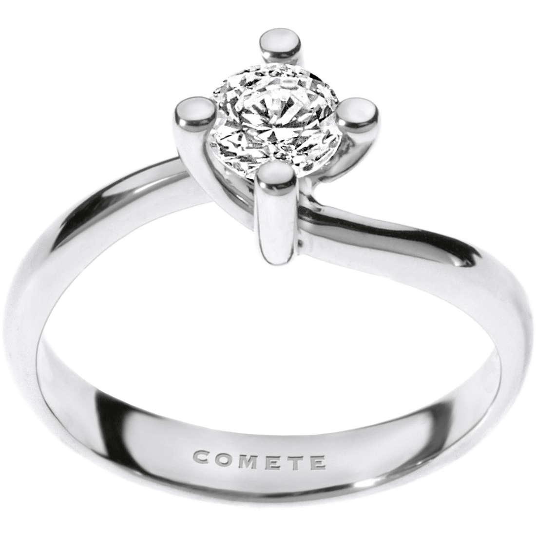 anello donna gioielli Comete Solitario ANB 1696