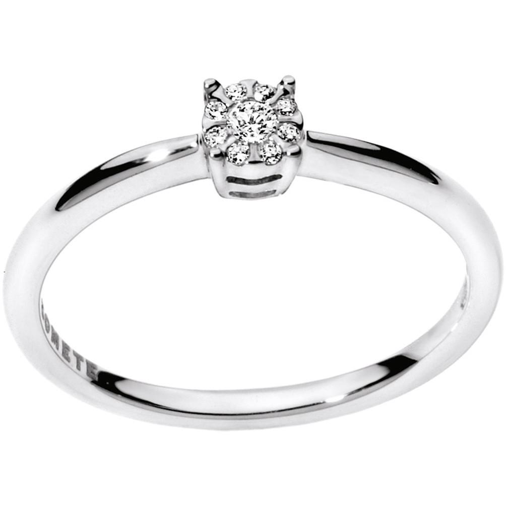 anello donna gioielli Comete Solitario ANB 1708