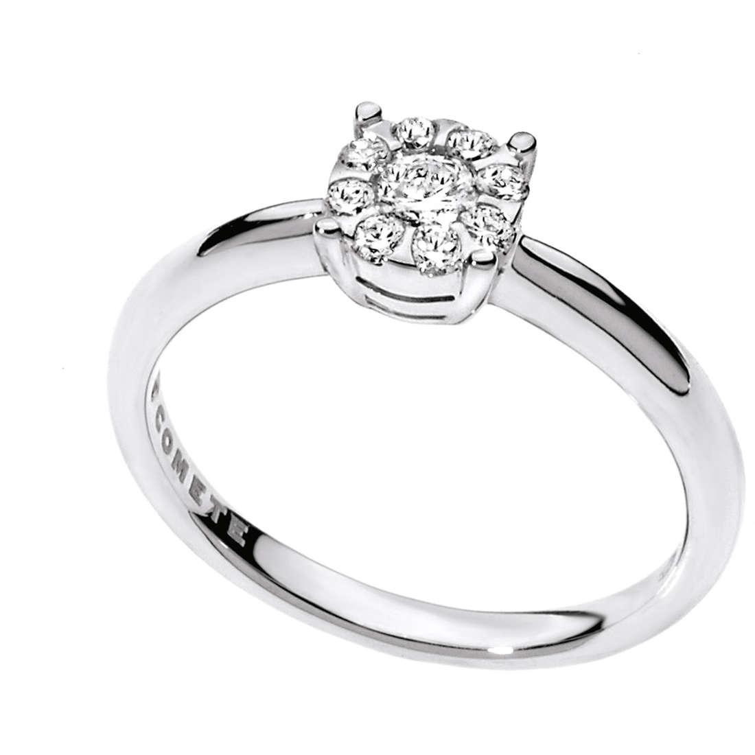 anello donna gioielli Comete Solitario ANB 1710