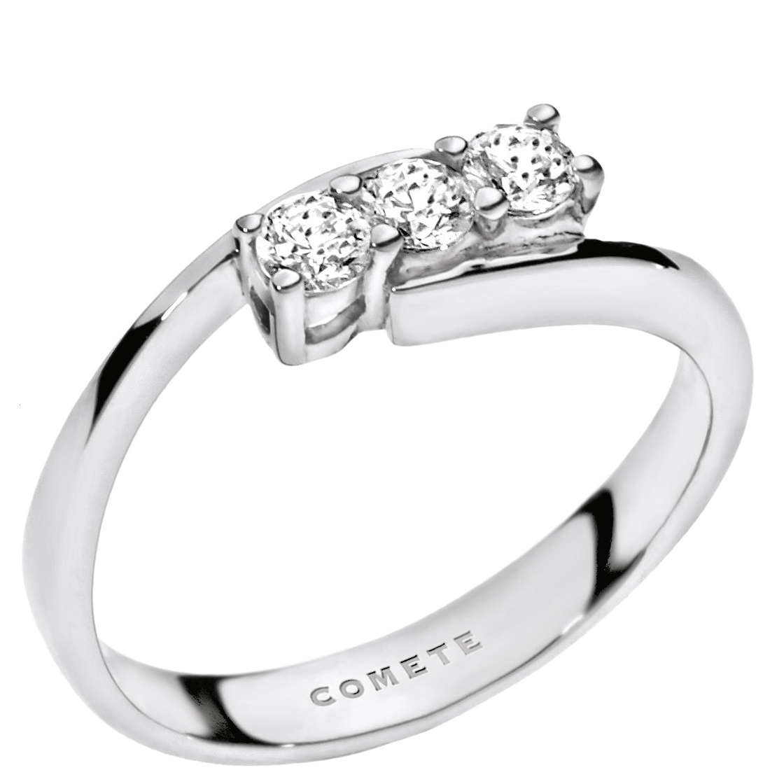 anello donna gioielli Comete Trilogy ANB 1692
