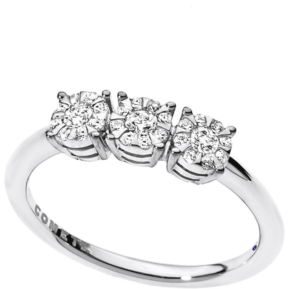 anello donna gioielli Comete Trilogy ANB 1724