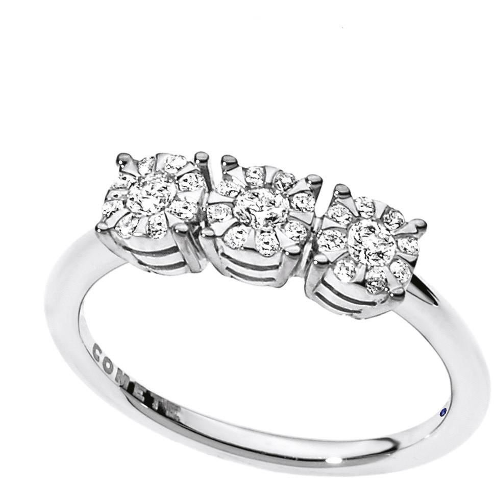 anello donna gioielli Comete Trilogy ANB 1725