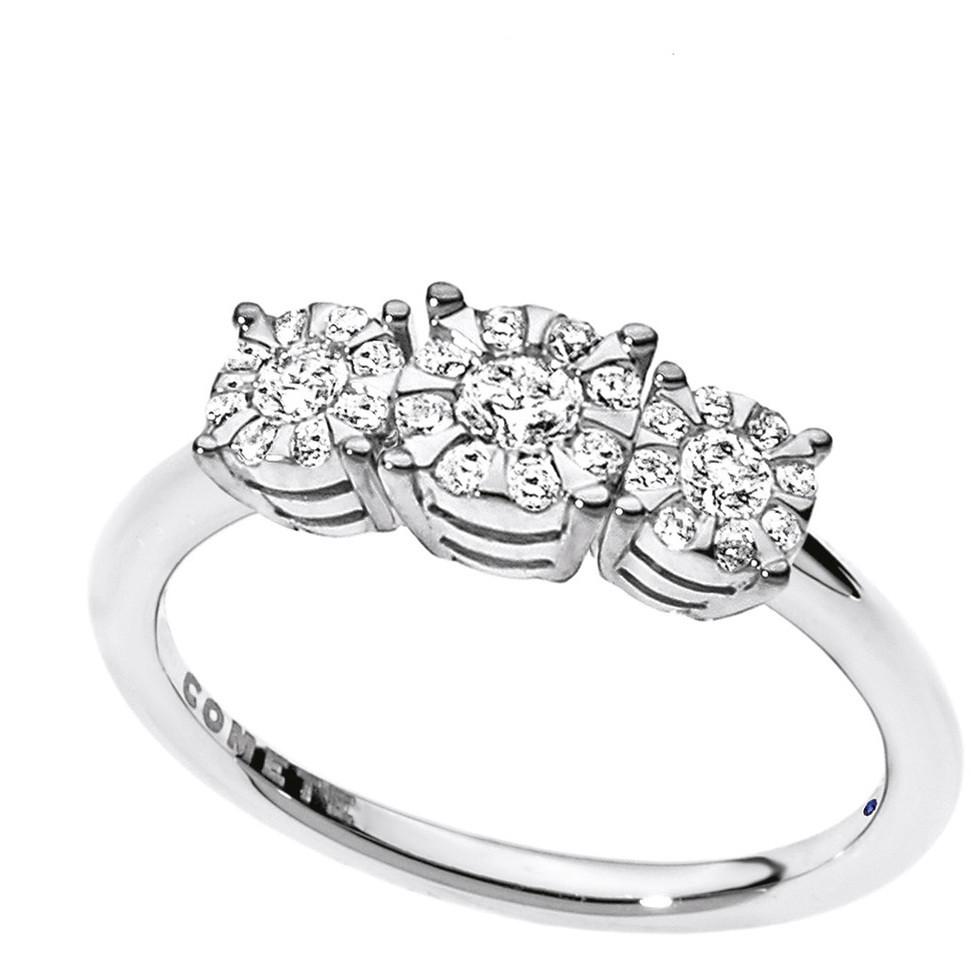 anello donna gioielli Comete Trilogy ANB 1726