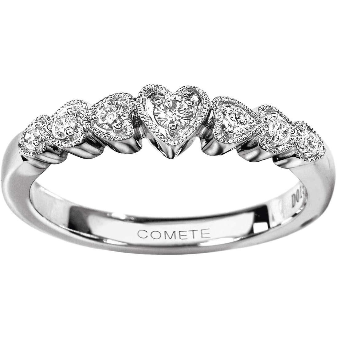 anello donna gioielli Comete Veretta ANB 644