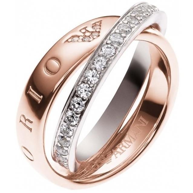 enorme sconto fdfe8 6aa2e anello donna gioielli Emporio Armani EG3123221503