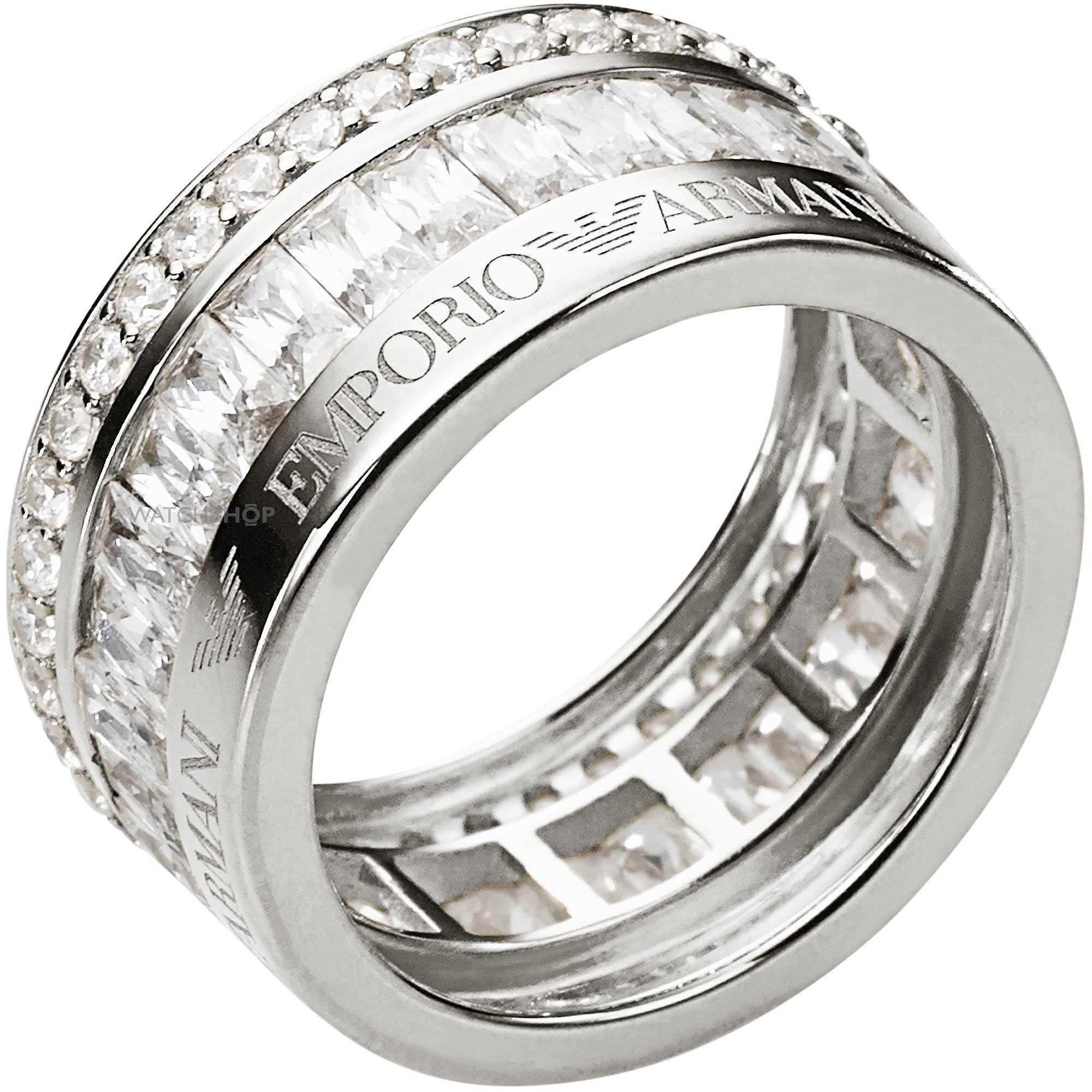sito affidabile 11ef4 9f5e4 anello donna gioielli Emporio Armani EG3166040503