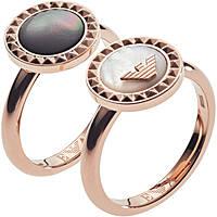anello donna gioielli Emporio Armani EGS2561221505