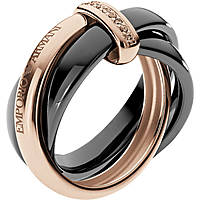 anello donna gioielli Emporio Armani Fall 2013 EG3081221510
