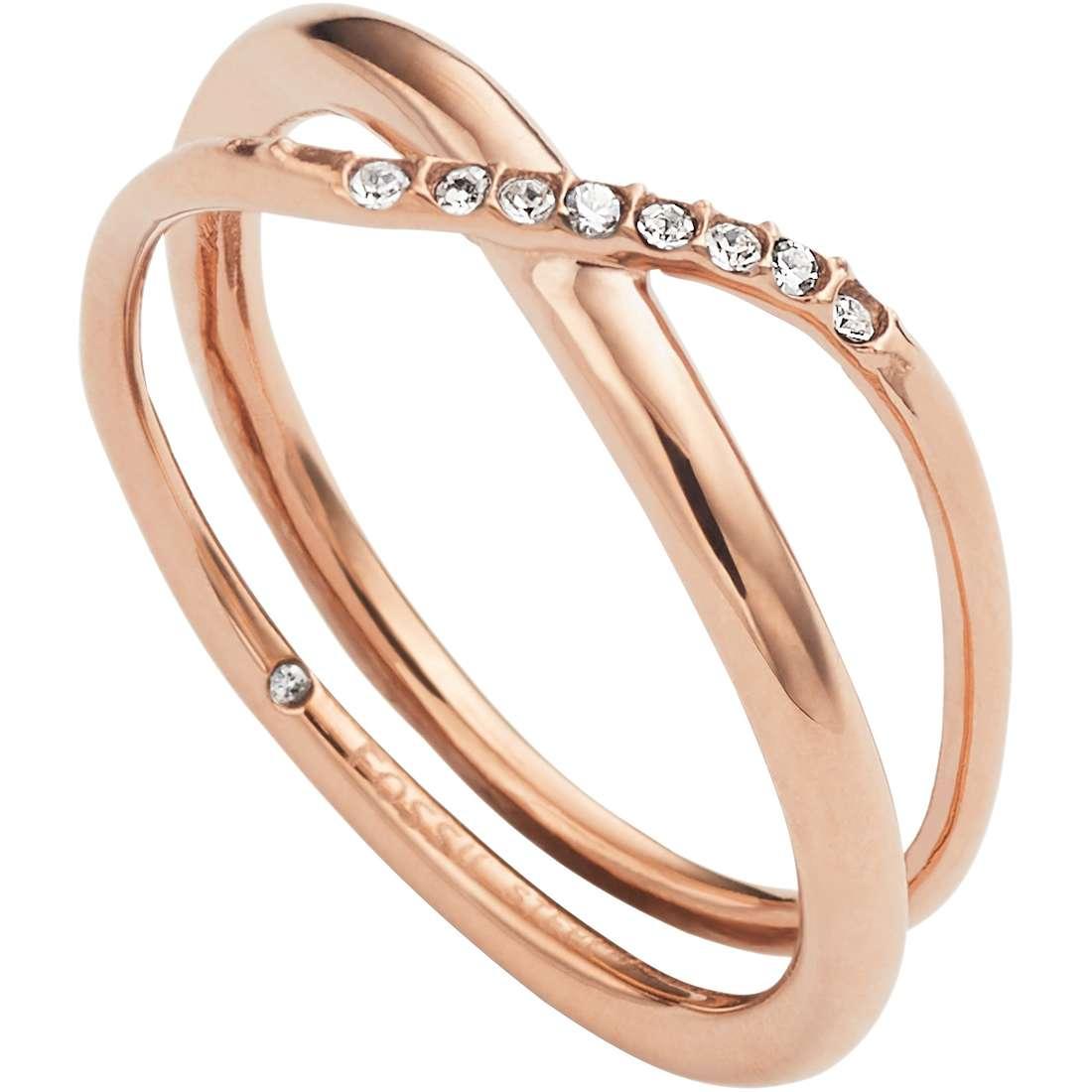 anello donna gioielli Fossil Classics JF02255791508