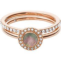 anello donna gioielli Fossil Classics JF02954791505